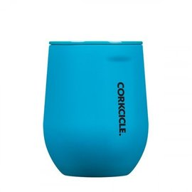 Corkcicle Corkcicle - STEMLESS - Neon Blue - 12oz