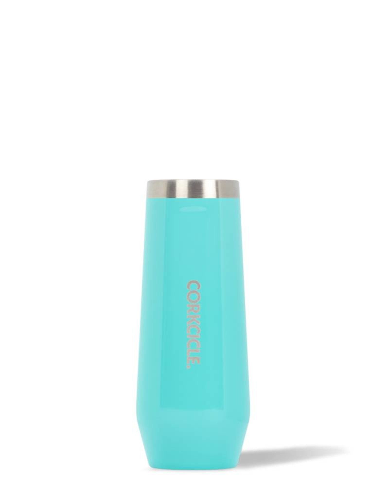 Corkcicle Corkcicle - STEMLESS FLUTE -Gloss Turquoise - 7oz