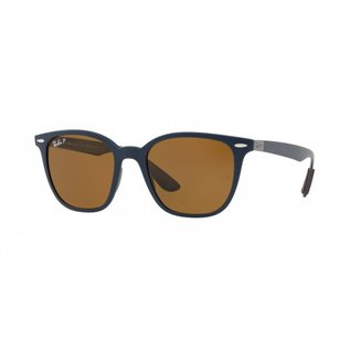 Ray-Ban Ray-Ban - RB4297 (633) - Matte Dark Blue w/ POLAR Brown