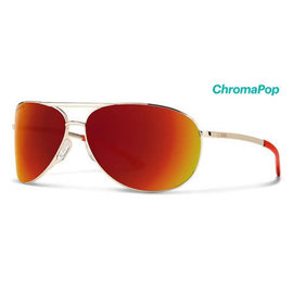 Smith Optics Smith - SERPICO 2 - Gold w/ ChromaPop Sun Red Mirror