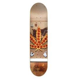 """Skate Mental - PIZZA LEAF DECK - 8.125"""""""