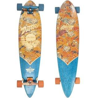 "Dusters Dusters - Cruising Kimono 37"" Longboard - Orange"