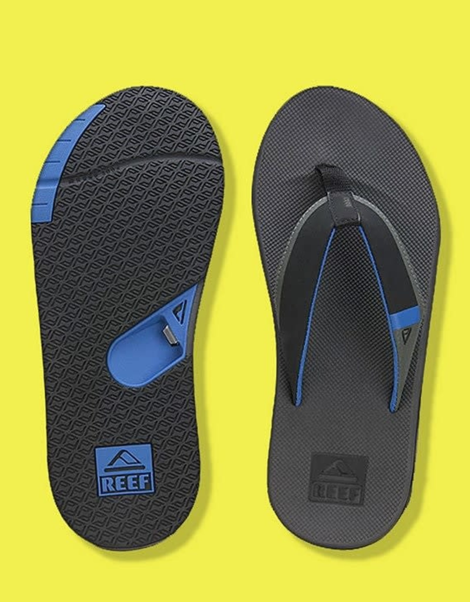 Reef REEF - FANNING - Aqua/Yellow