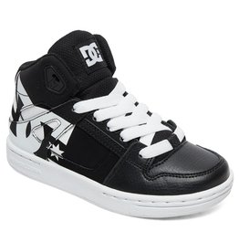 DC DC - Yth PURE HIGH - TOP SP - Blk/Wht -