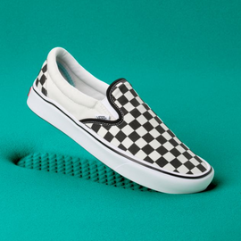 Vans Vans - COMFYCUSH SLIP-ON - checkered -