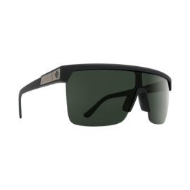 SPY SPY - FLYNN 5050 - Soft Matte Black w/ HD Plus Gray Green