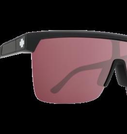 SPY SPY - FLYNN 5050 - Matte Black w/ HD Plus Rose With Silver Spectra Mirror