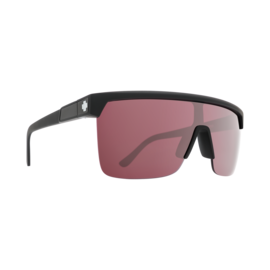 SPY SPY - FLYNN 5050 - Matte Black w/ HD Plus Rose With Silver Spectra Mirror