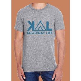 Kootenay Life Kootenay Life - CAMP TEE - Grey -