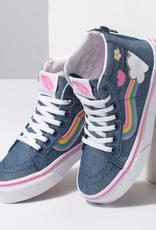 Vans Vans - Yth SK8-HI ZIP - Rainbow Denim -