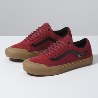 Vans Vans - OLD SKOOL PRO BMX - Red/Gum -