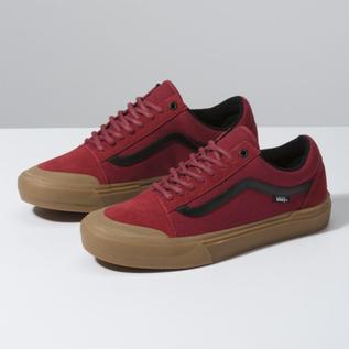 Vans Vans - OLD SKOOL PRO BMX - Red/Gum -