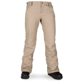 Volcom Volcom - Wmns FROCHICKIE INS. PANT - Sand Brown -