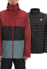 686 686 - Mens SMARTY 3in1 FORM Jkt - Rusty Red -