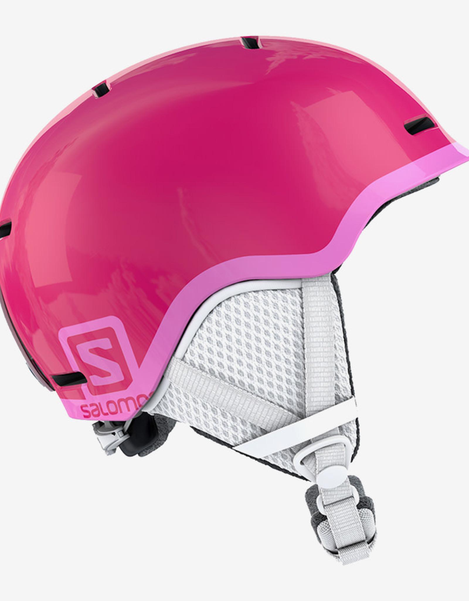 Salomon - GROM Jr Helmet - Gloss Pink -