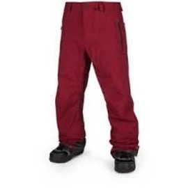 Volcom Volcom - GORE-TEX PANT - Burnt Red -