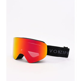 Von Zipper VZ - ENCORE - Black w/ Fire Chrome