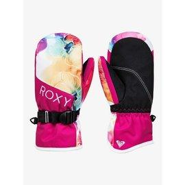 Roxy Roxy - JETTY SOLID MITT - Wht Flowers