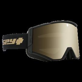SPY Spy - ACE - Black/Gold 25th Anniv Bronze W/ Gold Spectra + Bonus Lens