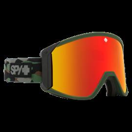 SPY Spy - RAIDER - Camo w/ Red Spectra Mirror + Bonus Lens