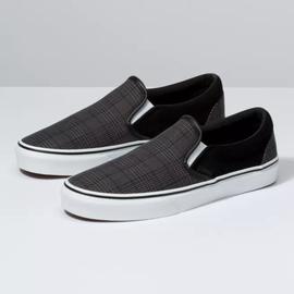 Vans Vans - CLASSIC SLIP-ON (Suiting) - Blk/Wht -
