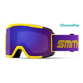 Smith Optics Smith - SQUAD - Yellow '93 w/ CP Everyday Violet Mirror + Bonus Lens