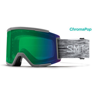 Smith Optics Smith - SQUAD XL - Cloudgrey w/ CP Everyday Green Mirror + Bonus CP Lens