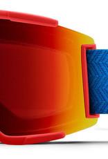 Smith Optics Smith - SQUAD XL - Rise Block w/ CP Sun Red Mirr + Bonus CP Lens