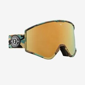 Electric Visual Electric - KLEVELAND - Camo w/ Brose / Gold Chrome + Bonus Lens