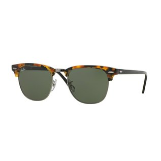 Ray-Ban Ray-Ban - CLUBMASTER 51 (1157) - Spotted Black Havana w/ Crystal Green