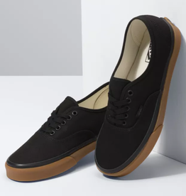 Vans Vans - AUTHENTIC (12oz Canvas) - Blk/Gum -