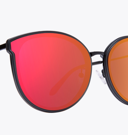 SPY Spy - COLADA - Matte Trans Gry/Blk w/ Rose Flash Mirror