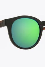 SPY Spy - HI-FI - Matte Black/Blonde Tort w/ Green Spectra