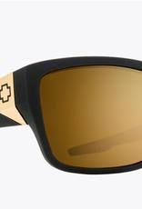 SPY Spy - DIRTY MO 2 - Matte Blk Gold w/ Gold Spectra Mirror