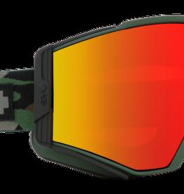 SPY Spy - ACE - Camo HD + Bronze W/ Red Spectra Mirror+ Bonus Lens