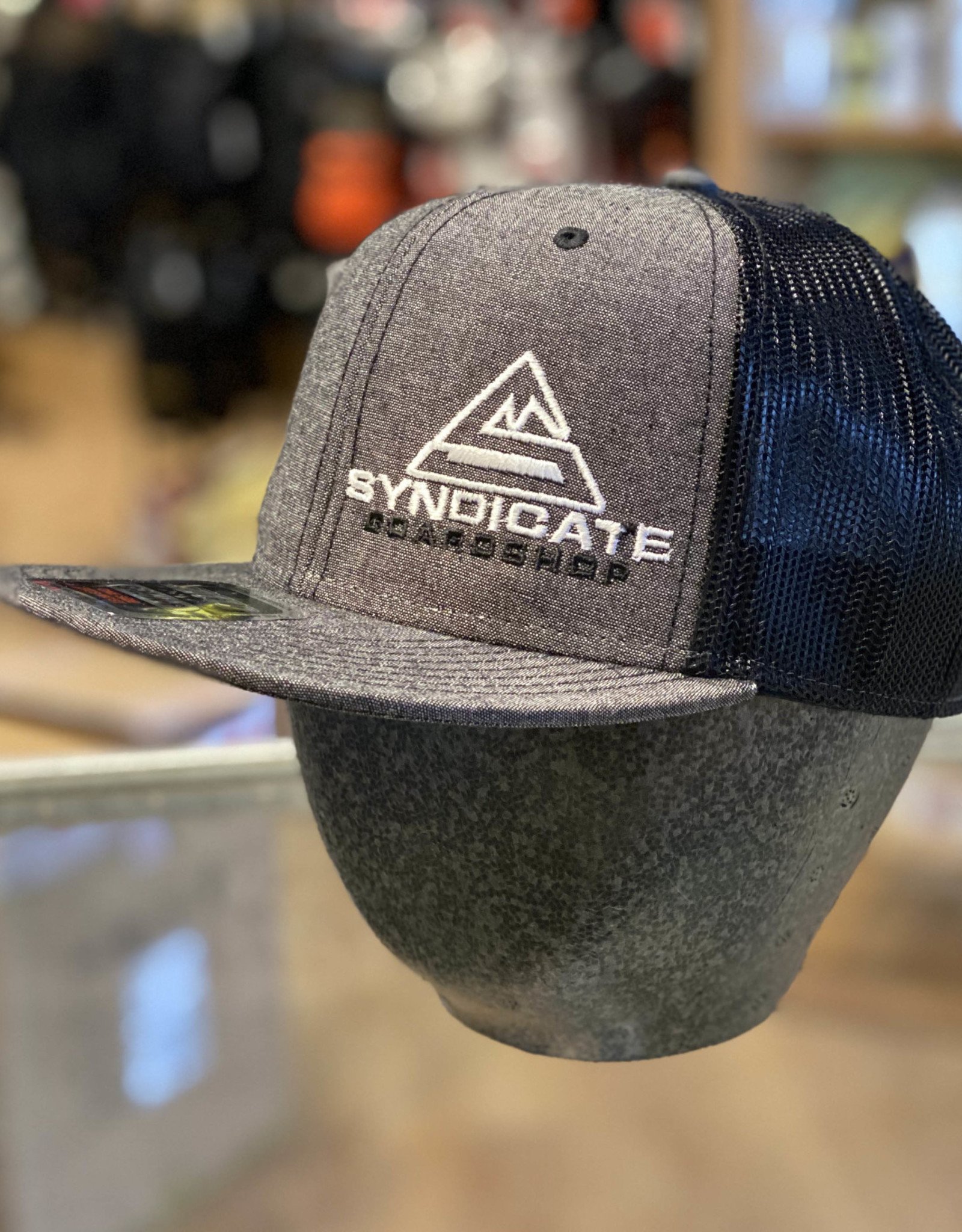 Syndicate SYNDICATE - MESH SNAPBACK HAT - ASST COLORS