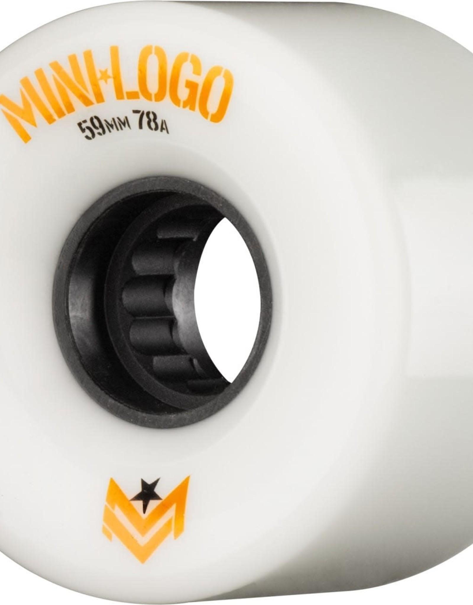 MINI*LOGO - AWOL Wheels - 78A - 63MM