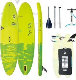 "AQUATONE Aquatone - WAVE ALL AROUND - 10' 6"" x 32"" x 6"" INFLATABLE SUP Pkg"