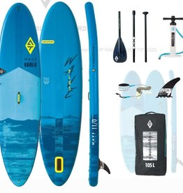 "AQUATONE Aquatone - WAVE ALL AROUND - 11' x 32"" x 6"" INFLATABLE SUP Pkg"
