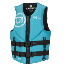 O'Brien - LADIES TRAD NEO PFD - Teal -