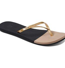 Reef REEF - Wmns BLISS TOE DIP Sandals - Blk/Nude -