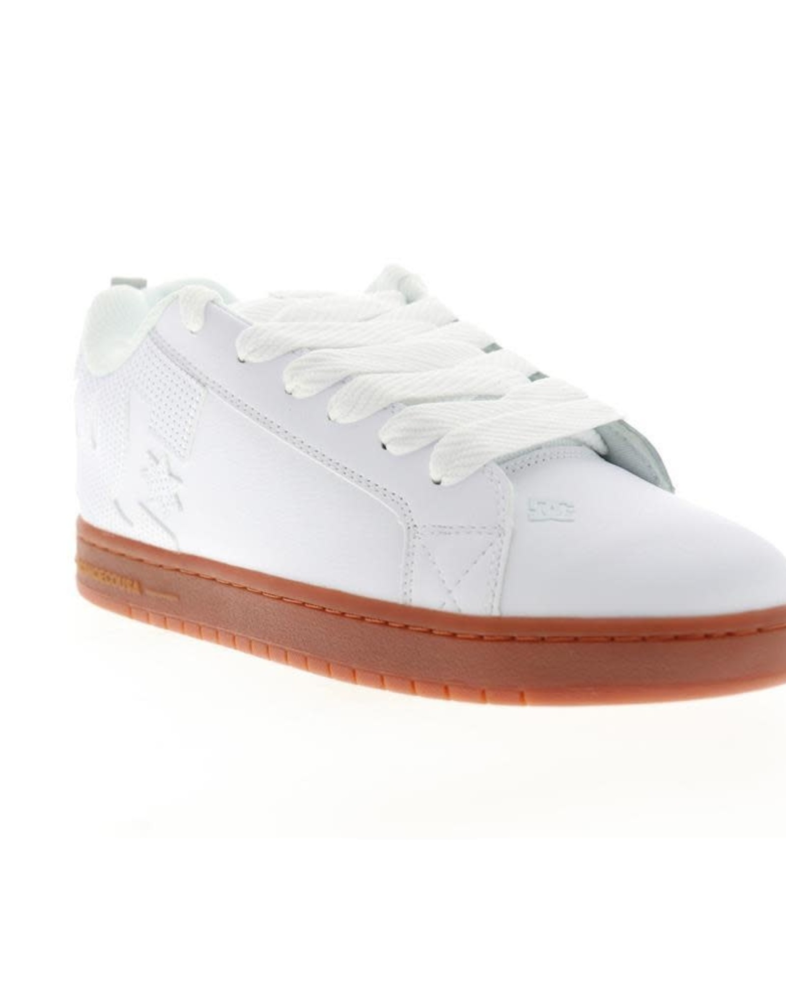 DC DC - COURT GRAPHIC - WHT/GUM