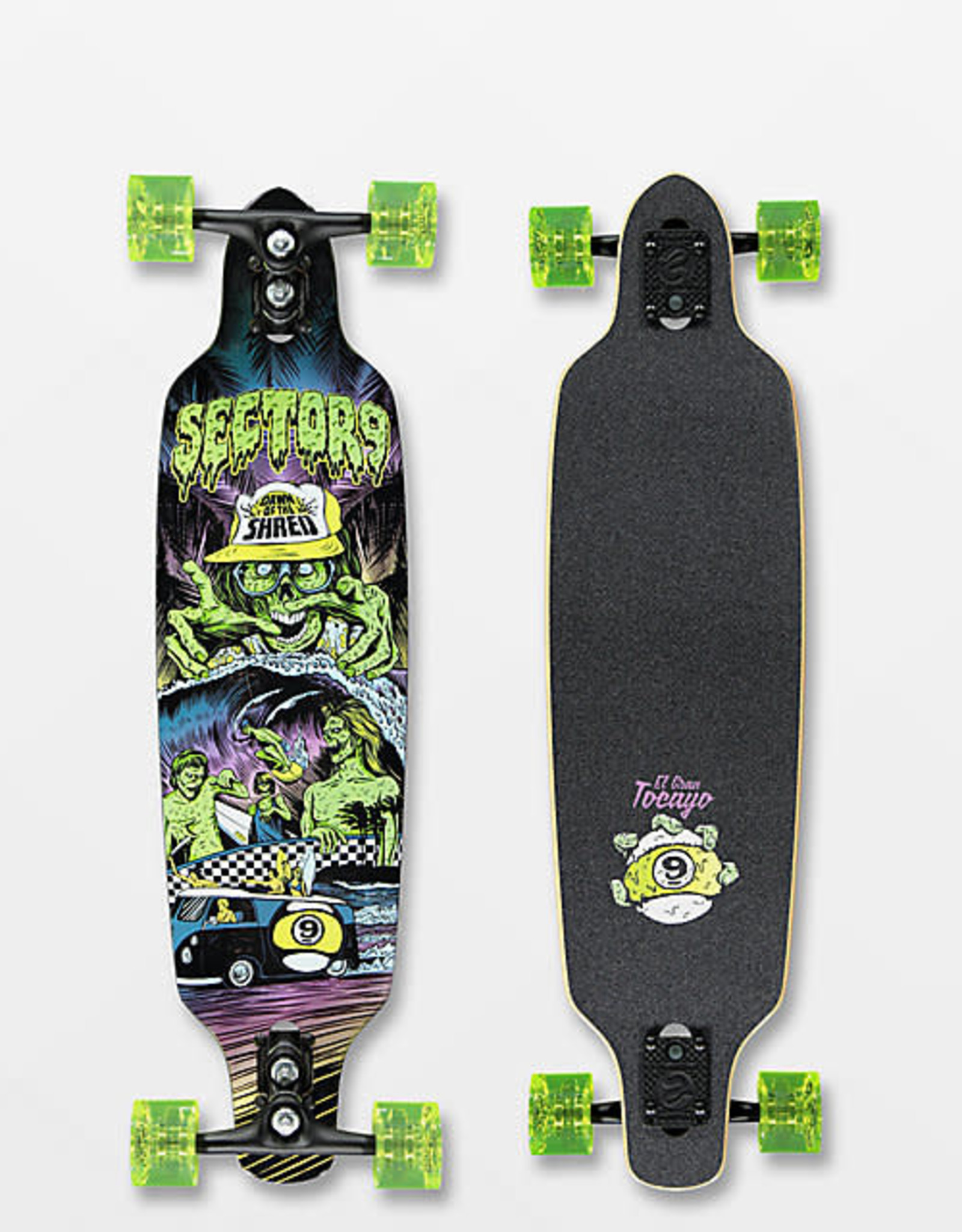 "Sector 9 Sector 9 - Dawn Of The Shred 34"" - Complete"
