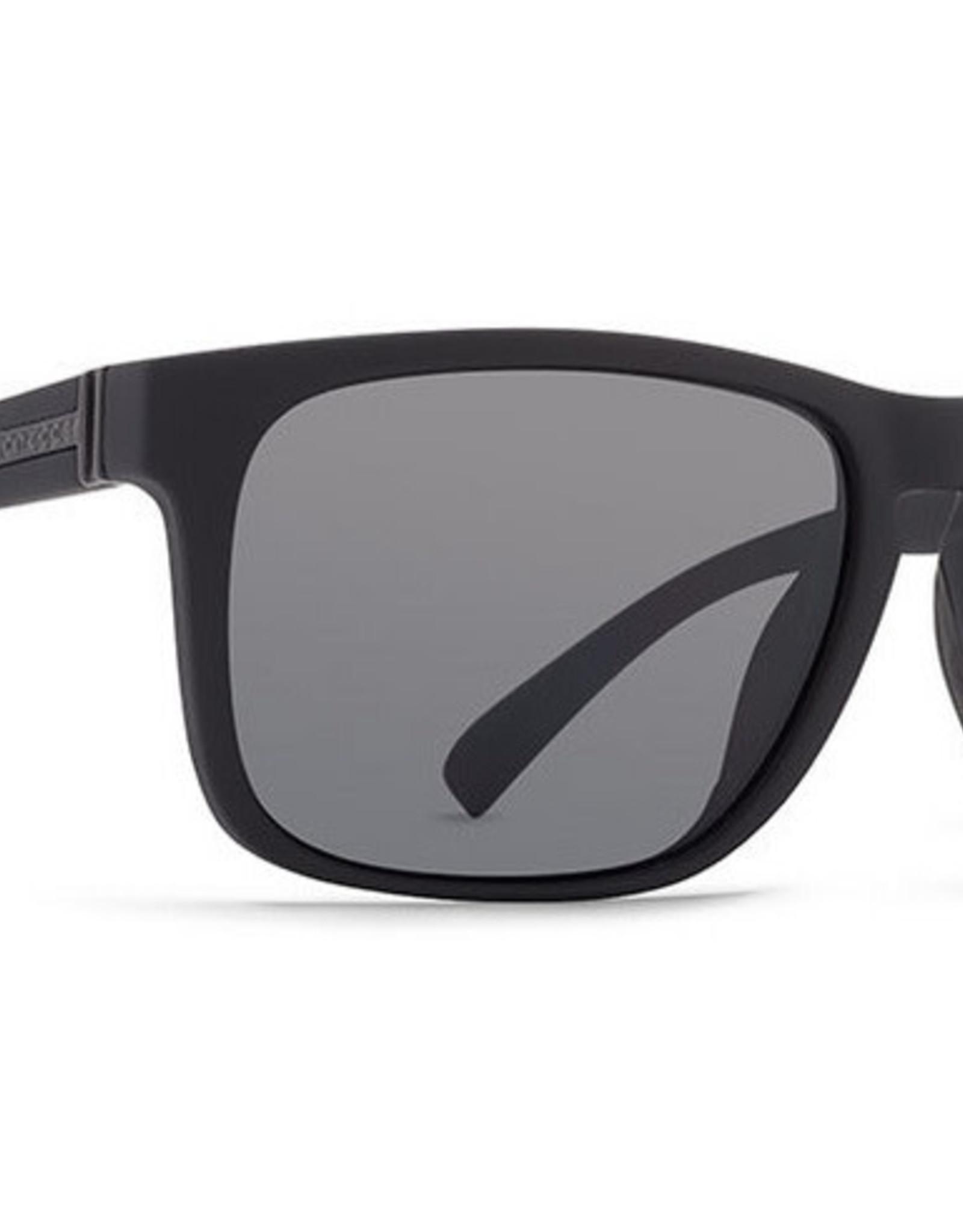 Von Zipper VZ - LOMAX - Black Satin w/ Grey