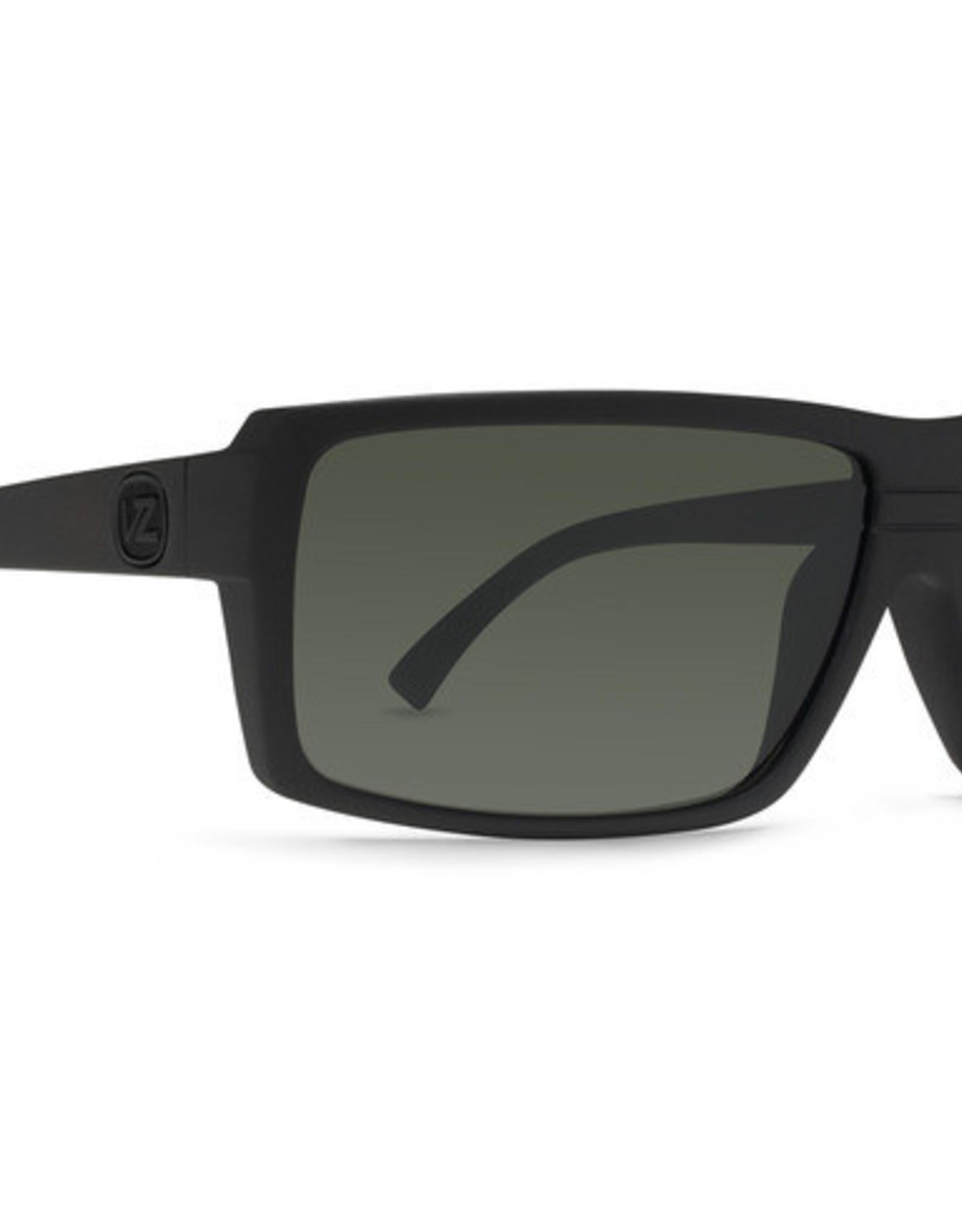 Von Zipper VZ - SNARK - Black Satin w/ Grey