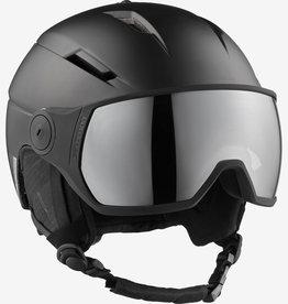 Salomon - PIONEER VISOR Helmet - Blk/Slv -