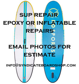 Syndicate SUP Repairs - epoxy or inflatable