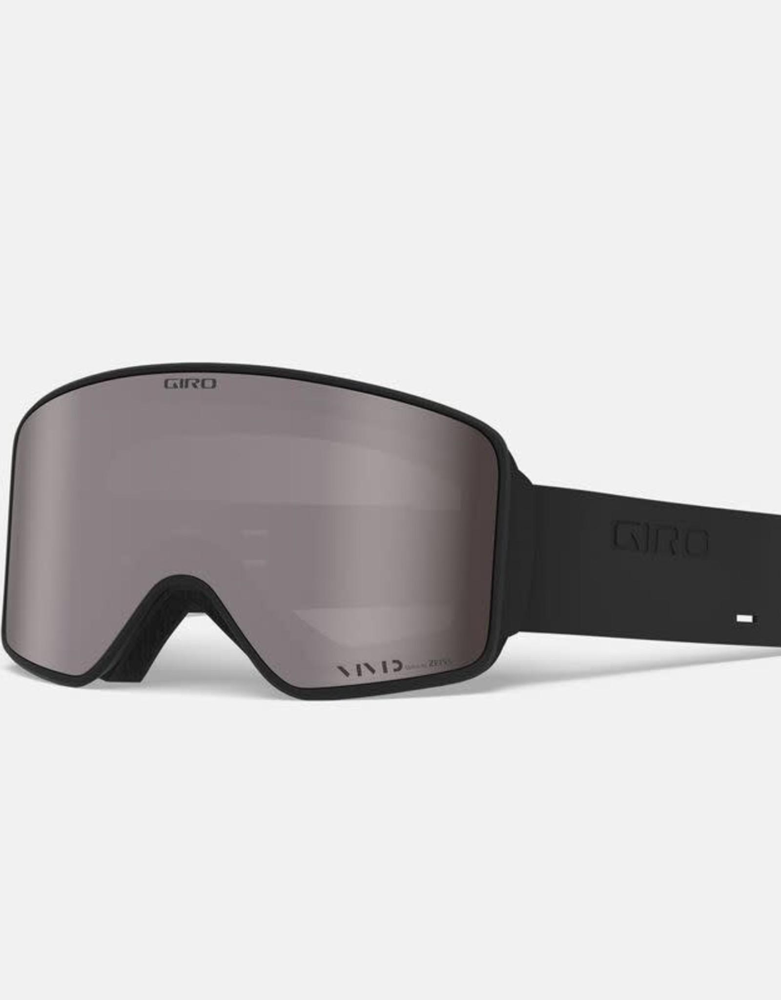 Giro - METHOD Goggle - Black Silicone w/ VIVID Onyx + Bonus Lens