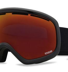 Von Zipper VZ - SKYLAB - Black Gloss w/ Black Fire Chrome + BONUS Lens