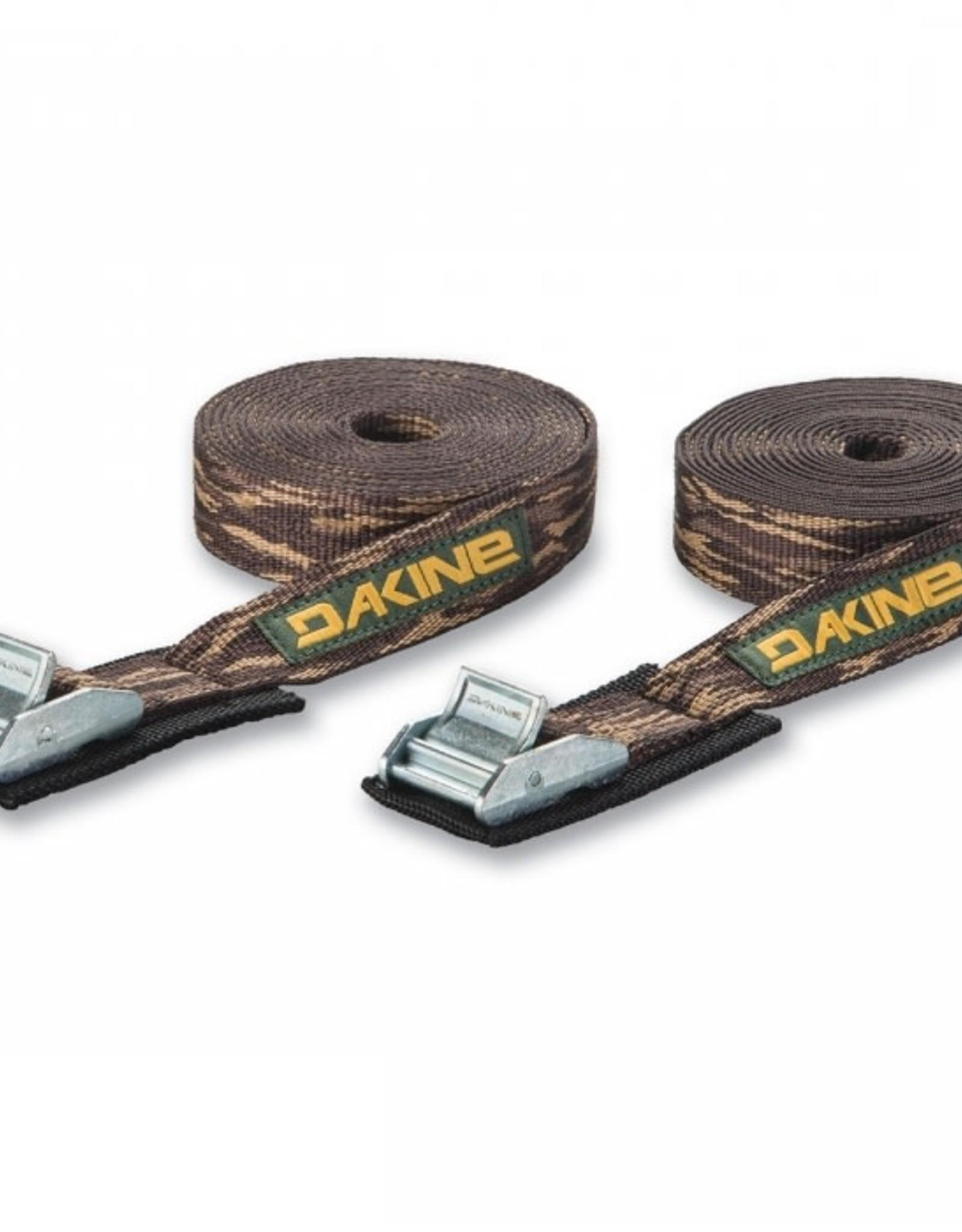 Dakine Dakine - BAJA TIE DOWN STRAPS 12' (2 pack) - Camo